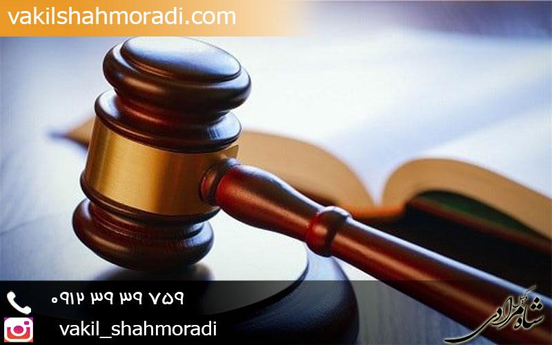 وکیل مدافع حقوق شاکی